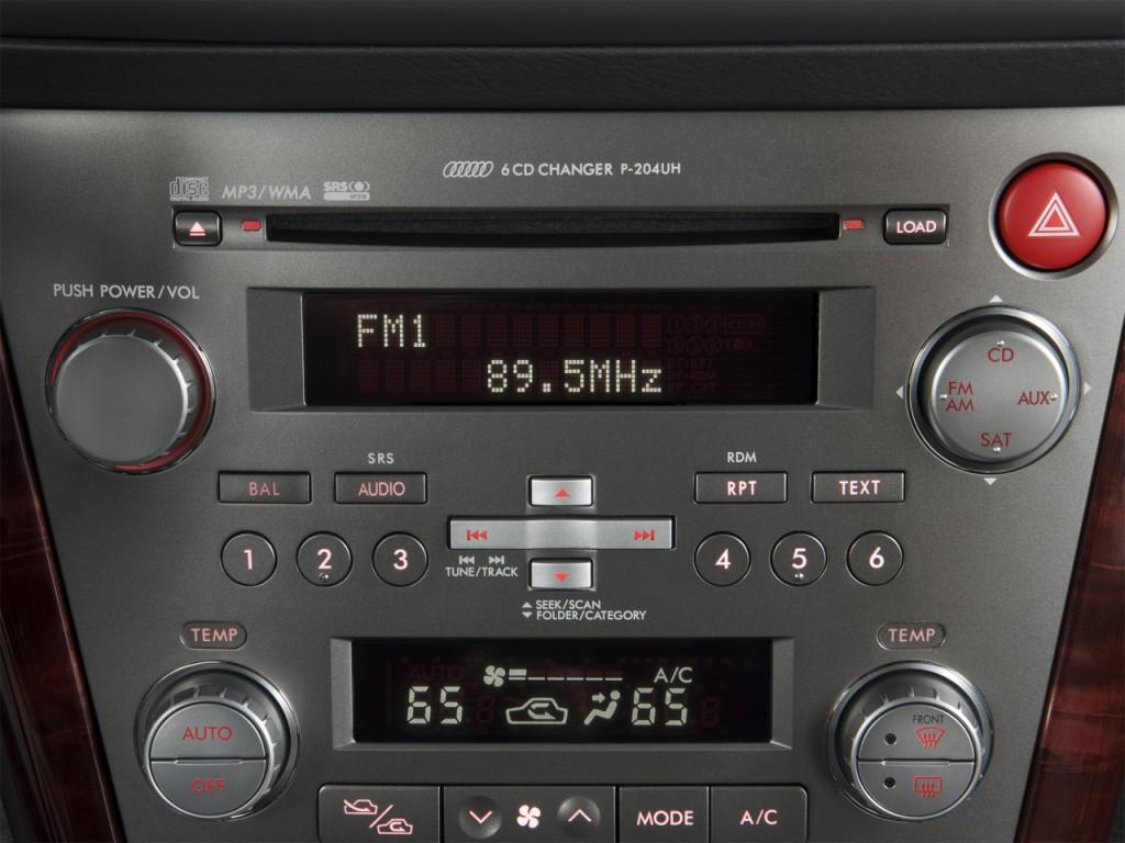 Image 2009 Subaru Legacy 4 Door H6 Auto 3 0r Ltd Audio