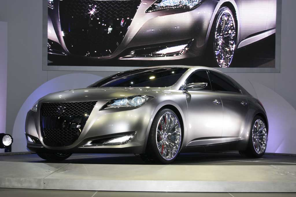 2009 Suzuki Kizashi 3 Concept