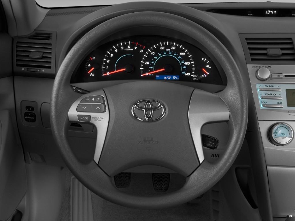 image 2009 toyota camry 4 door sedan i4 auto natl steering wheel size 1024 x 768 type gif. Black Bedroom Furniture Sets. Home Design Ideas