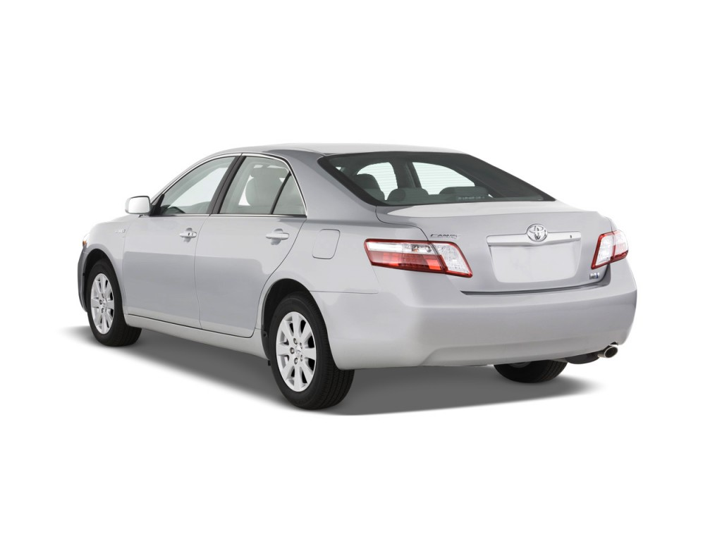 2003 Toyota Corolla Horsepower >> Image: 2009 Toyota Camry Hybrid 4-door Sedan (Natl) Angular Rear Exterior View, size: 1024 x 768 ...