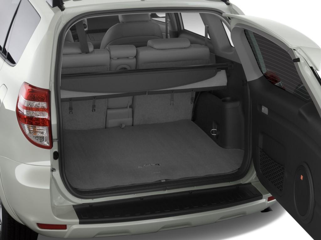 Image 2009 Toyota RAV4 FWD 4door V6 5Spd AT Ltd Natl Trunk