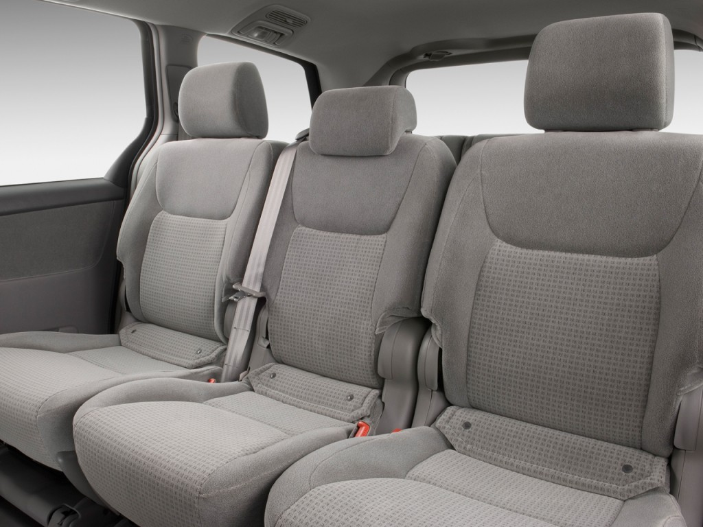 4Runner Seat Covers >> Image: 2009 Toyota Sienna 5dr 8-Pass Van CE FWD (Natl) Rear Seats, size: 1024 x 768, type: gif ...