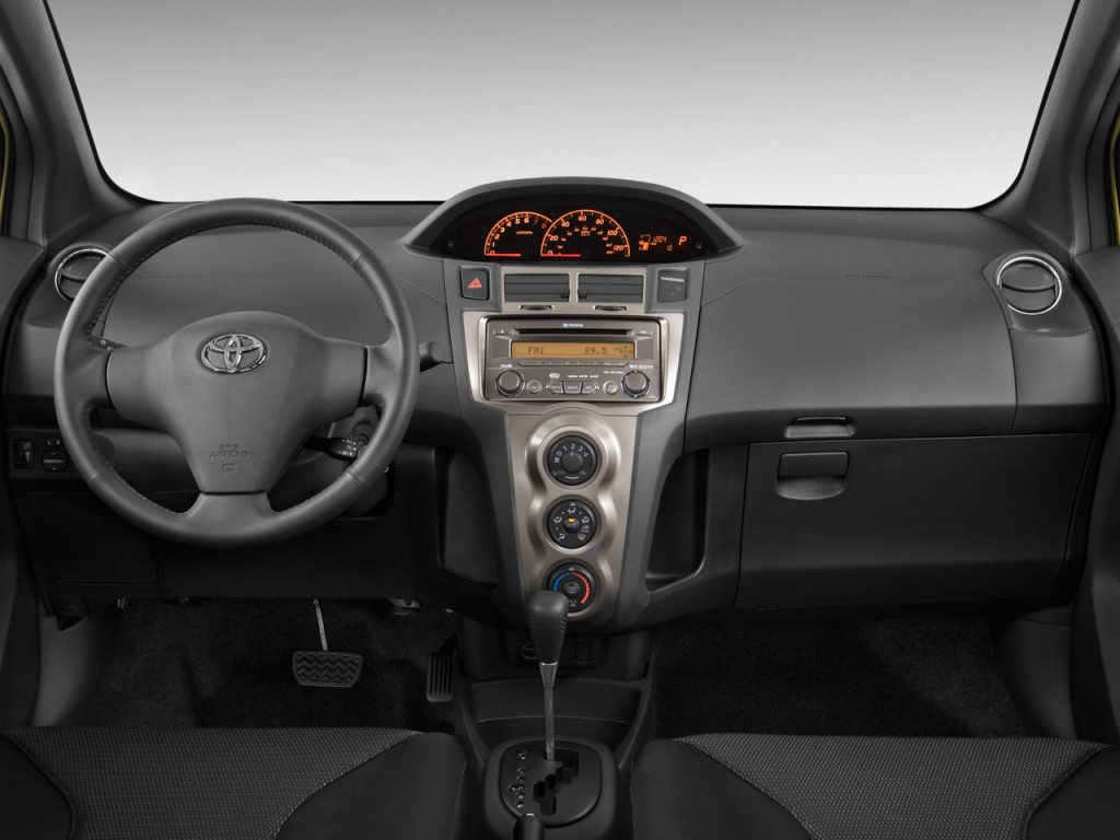 Image 2009 Toyota Yaris 3dr Hb Auto S Natl Dashboard