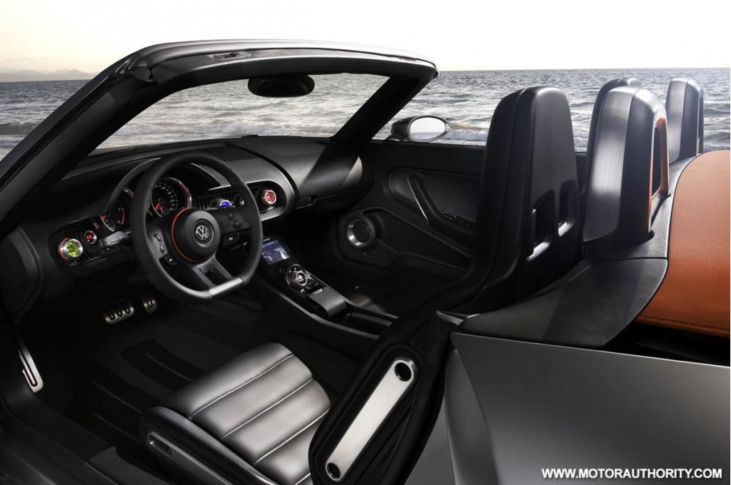 2009 volkswagen bluesport roadster concept 001