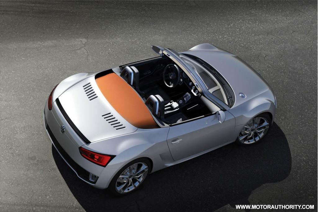 2009 volkswagen bluesport roadster concept 003