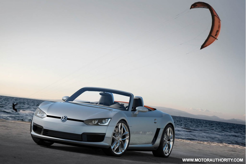 2009 volkswagen bluesport roadster concept 005