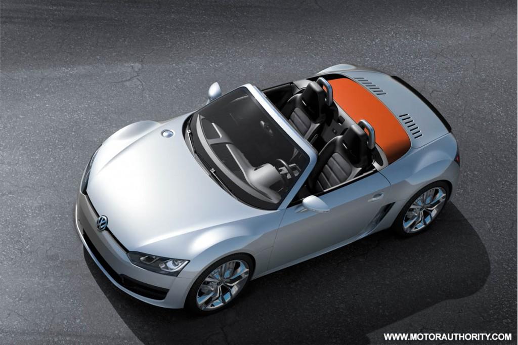 2009 volkswagen bluesport roadster concept 011