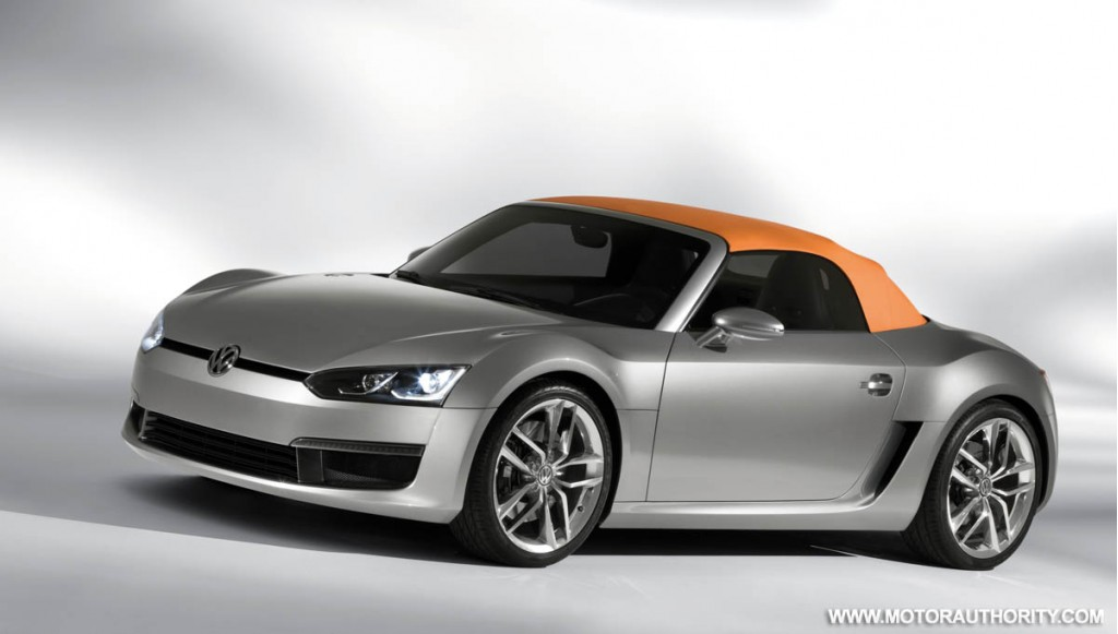 2009 volkswagen bluesport roadster concept 020