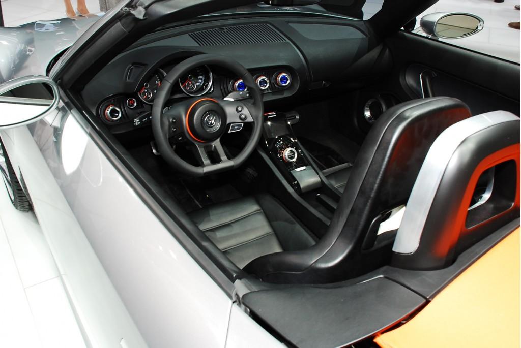 2009 volkswagen bluesport roadster concept live 10 1