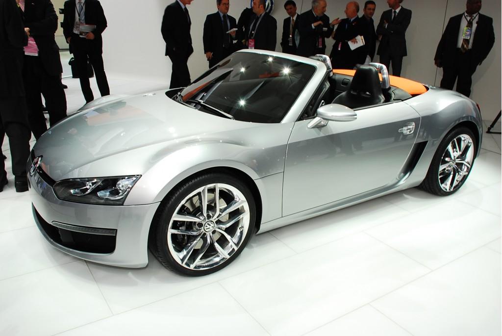 2009 volkswagen bluesport roadster concept live 11