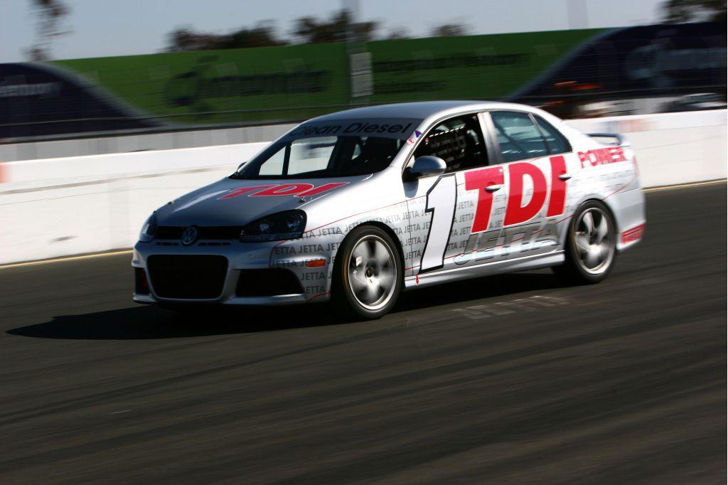 2009 Volkswagen Jetta TDI Cup racer