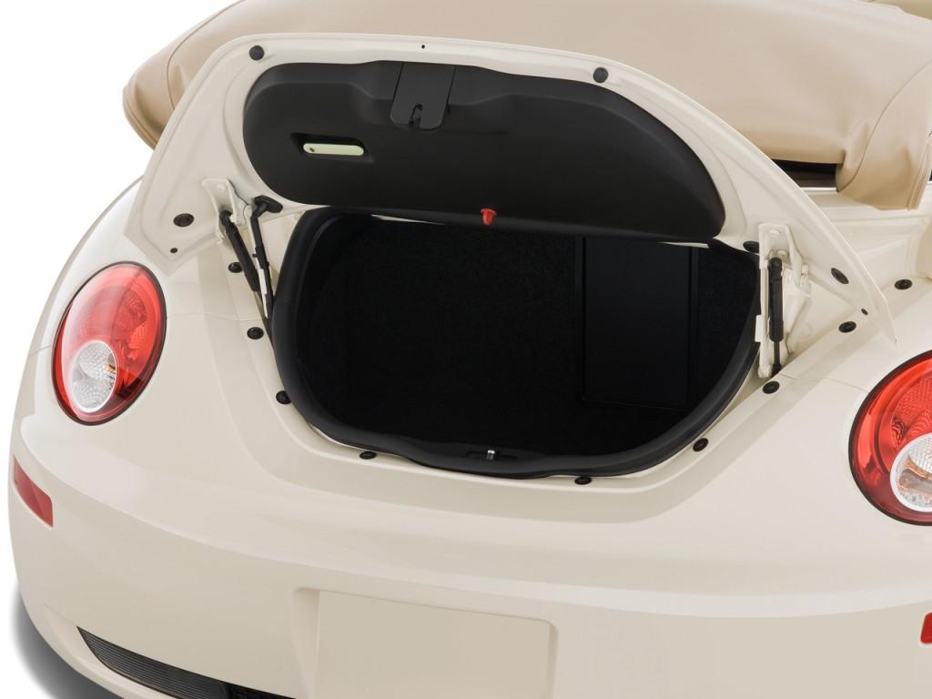 Image: 2009 Volkswagen New Beetle Convertible 2-door Auto S Trunk, size: 1024 x 768, type: gif ...