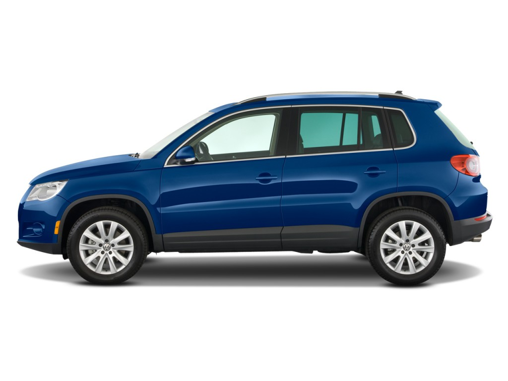 2009 Volkswagen Tiguan FWD 4-door SE Side Exterior View