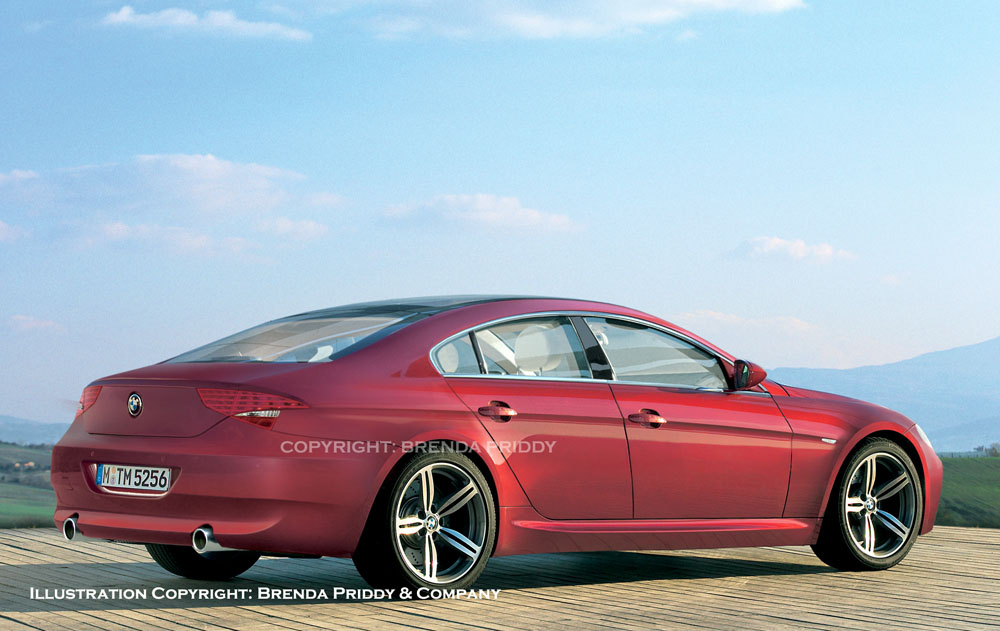 2009 BMW four-door coupe