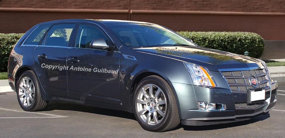 Image: 2009 Cadillac CTS Wagon, size: 1000 x 485, type ...