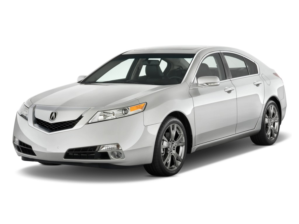 Image 2010 Acura Tl 4 Door Sedan Man Sh Awd Tech Hpt Angular Front Exterior View Size 1024 X