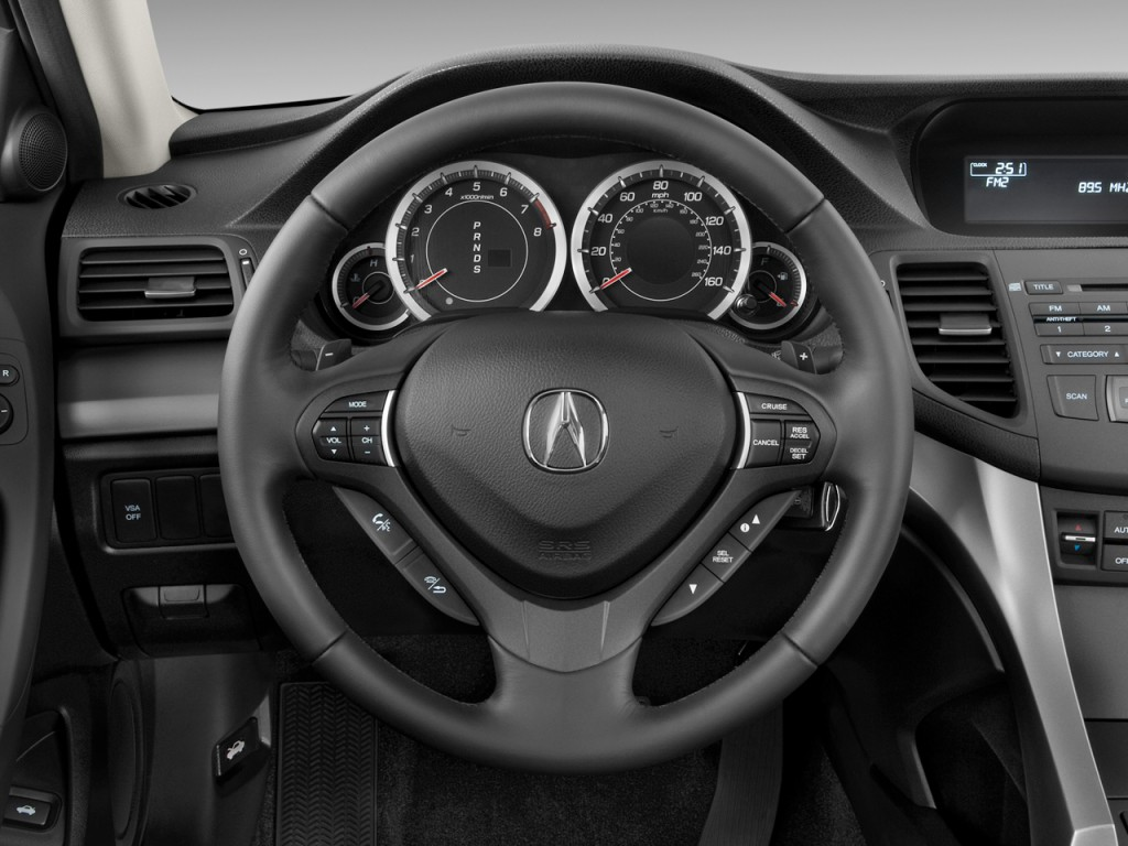 image 2010 acura tsx 4 door sedan i4 auto steering wheel. Black Bedroom Furniture Sets. Home Design Ideas