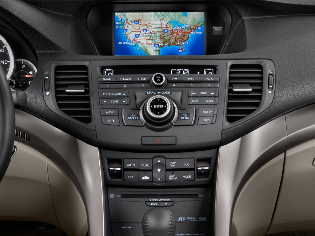 image 2010 acura tsx 4 door sedan i4 auto tech pkg instrument panel size 1024 x 768 type. Black Bedroom Furniture Sets. Home Design Ideas