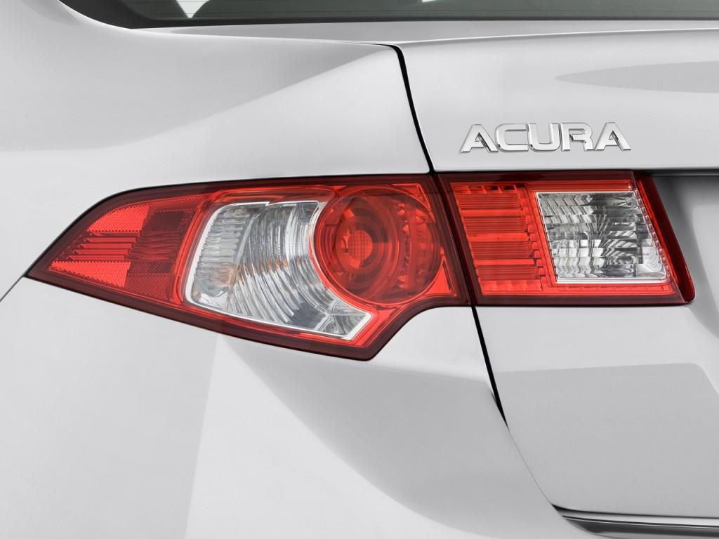 Image: 2010 Acura TSX 4-door Sedan V6 Auto Tech Pkg Tail ...