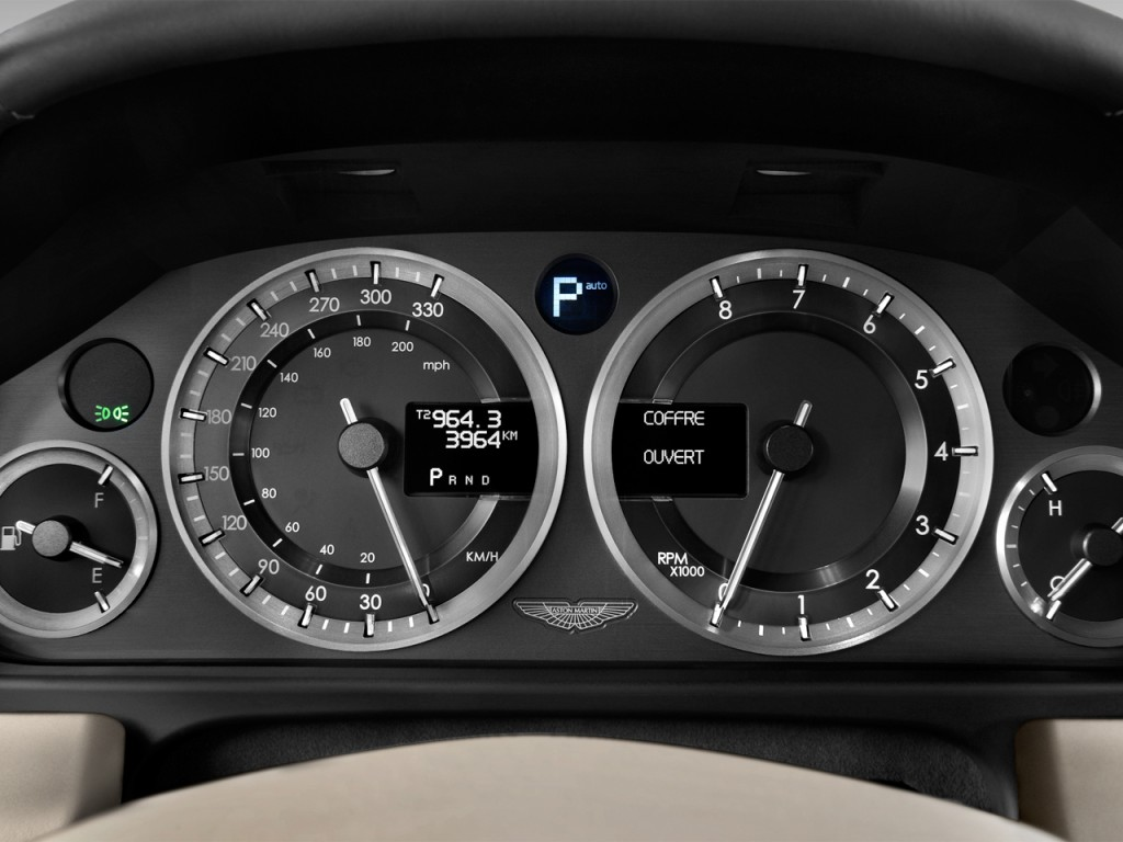Vehicle Instrument Panel : Image aston martin rapide door sedan auto
