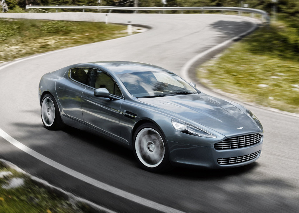 Aston Martin Rapide Debuts At Frankfurt Auto Show - Aston martin sedan