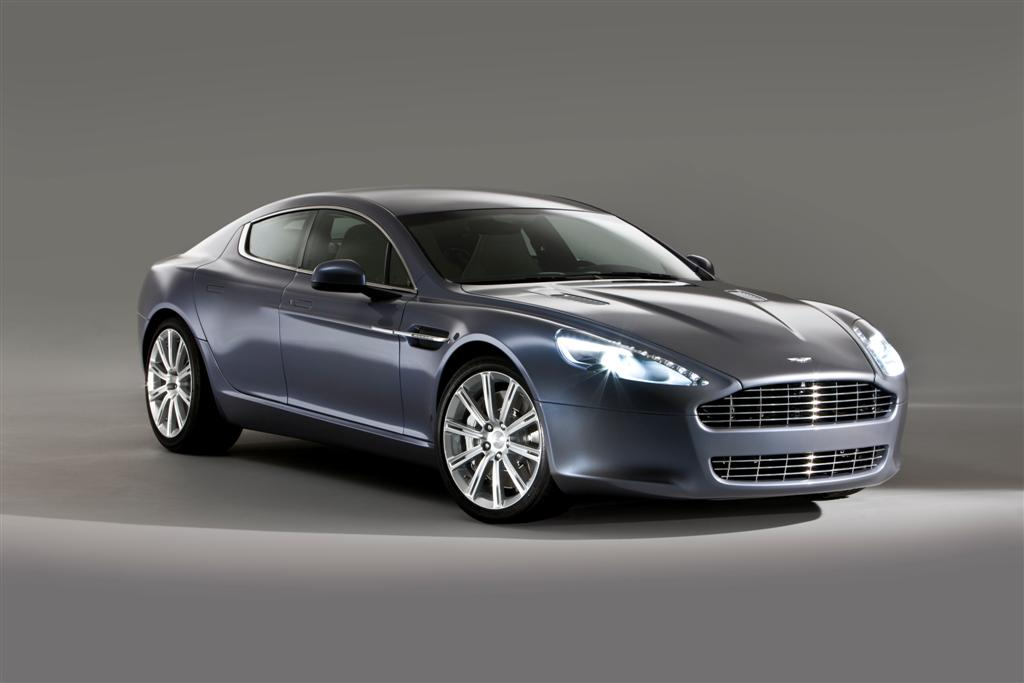 Aston Martin Rapide Very Late To The Movies