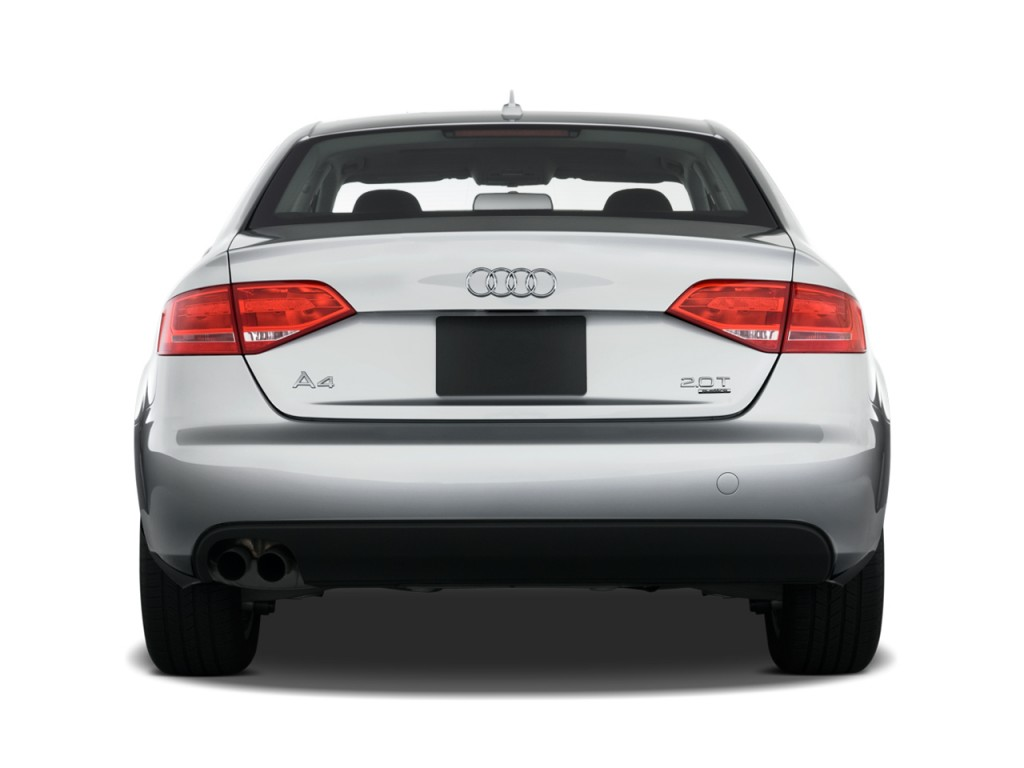 image 2010 audi a4 4 door sedan auto 2 0t quattro premium rear exterior view size 1024 x 768. Black Bedroom Furniture Sets. Home Design Ideas