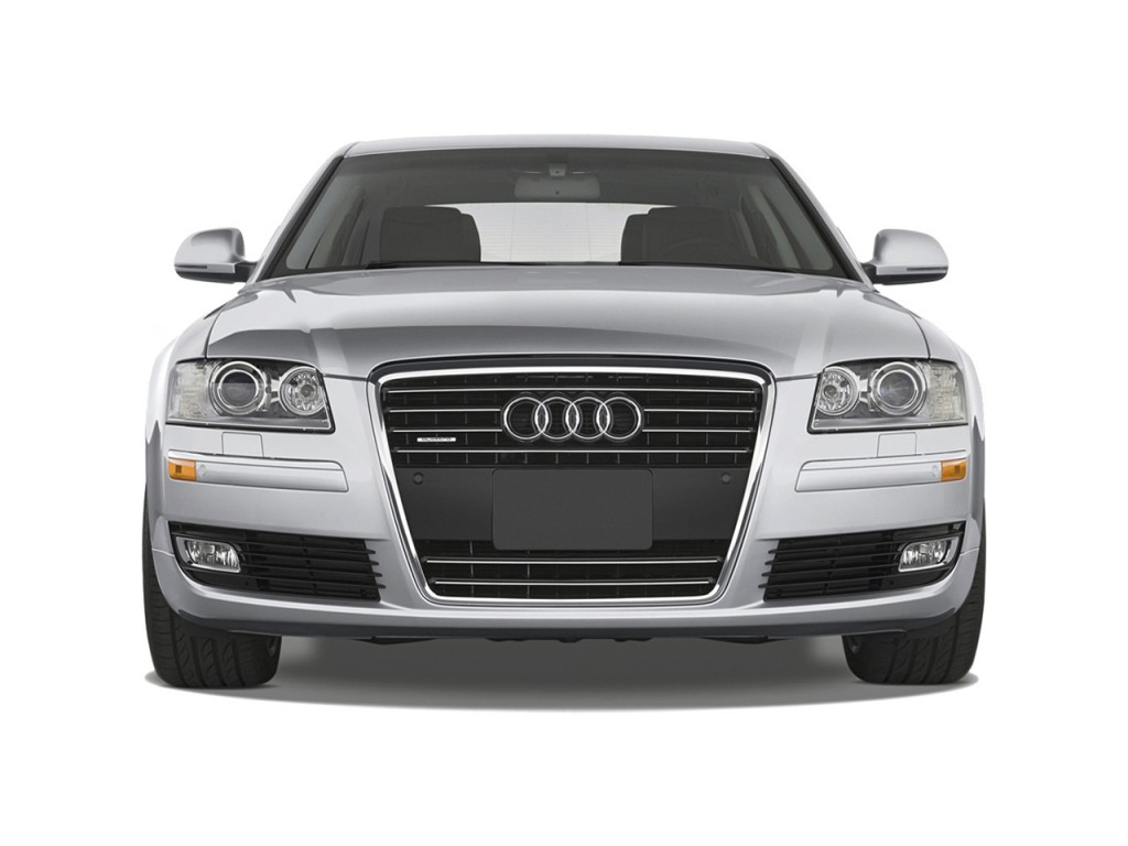 image 2010 audi a8 4 door sedan front exterior view size. Black Bedroom Furniture Sets. Home Design Ideas
