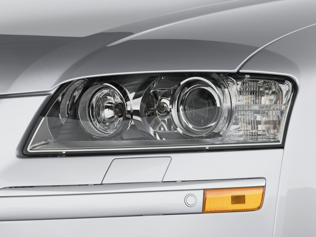 Image: 2010 Audi A8 4-door Sedan Headlight, size: 1024 x 768, type: gif, posted on: December 5 ...
