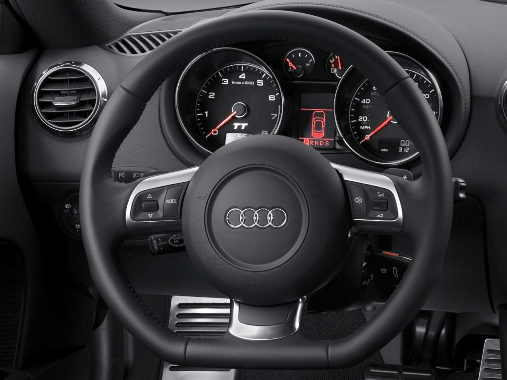 image 2010 audi tt 2 door coupe s tronic 2 0t quattro premium plus steering wheel size 1024 x. Black Bedroom Furniture Sets. Home Design Ideas