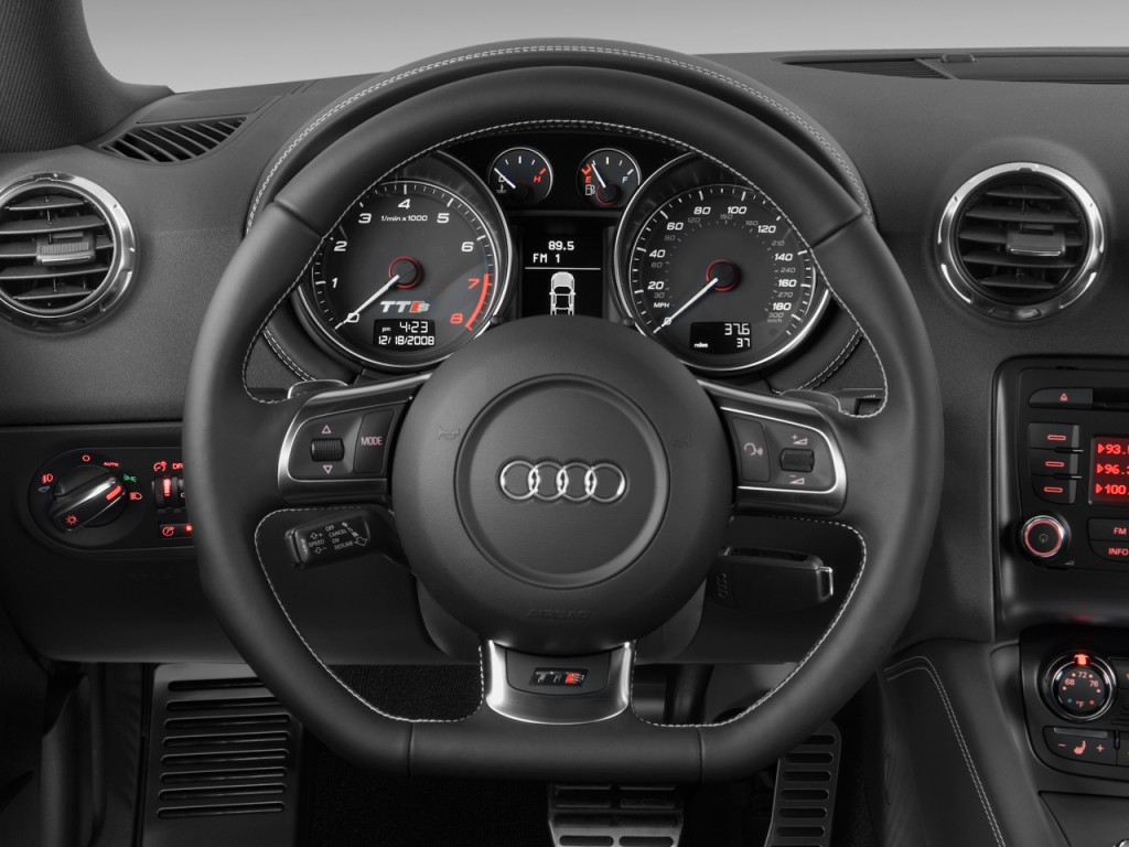 image 2010 audi tts 2 door coupe s tronic 2 0t quattro premium steering wheel size 1024 x 768. Black Bedroom Furniture Sets. Home Design Ideas