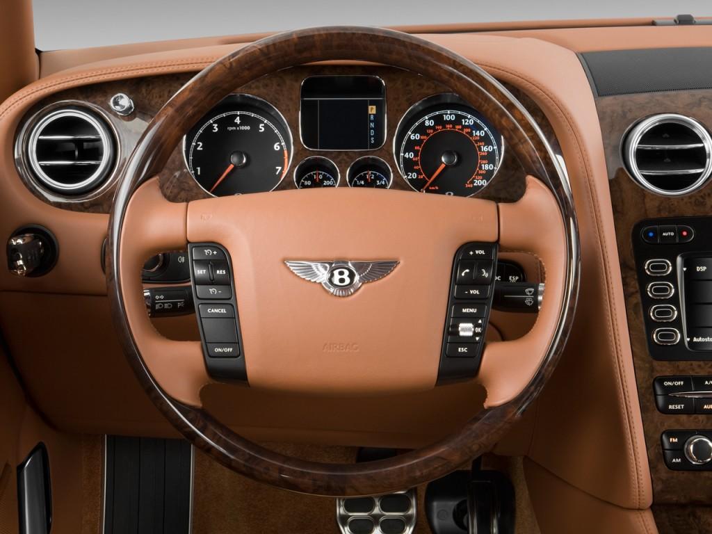 Image 2010 Bentley Continental Flying Spur 4 Door Sedan Steering Wheel Size 1024 X 768 Type