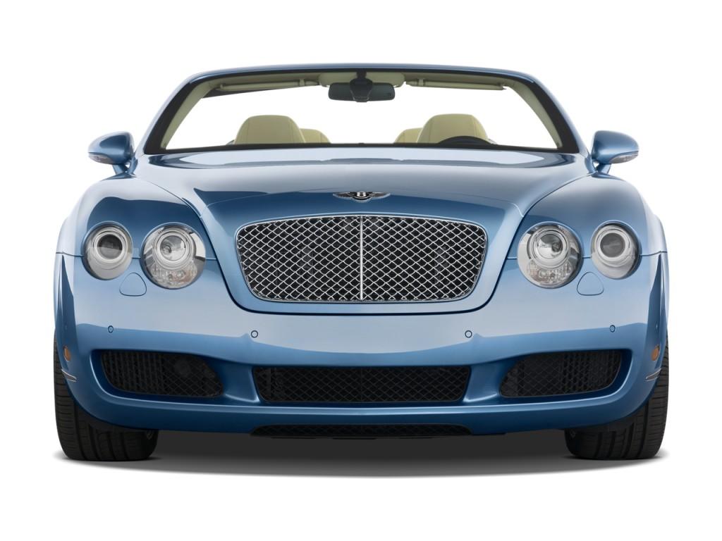 image  bentley continental gt  door convertible front exterior view size