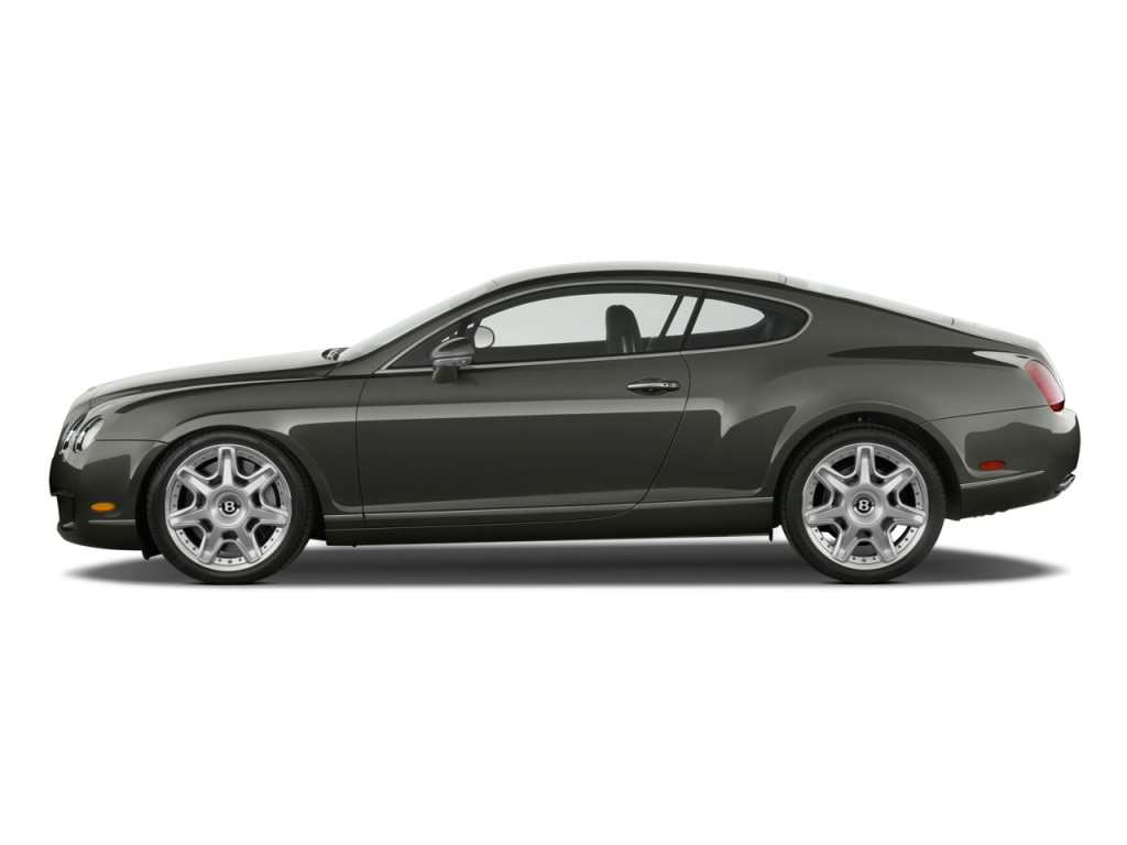 Image 2010 Bentley Continental Gt 2 Door Coupe Side Exterior View Size 1024 X 768 Type Gif