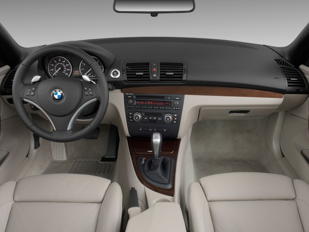 Image BMW Series Door Convertible I Dashboard Size - 2010 bmw 128i convertible