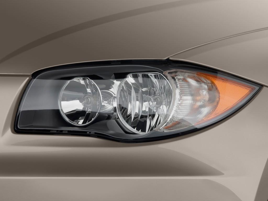 Image 2010 Bmw 1 Series 2 Door Convertible 128i Headlight