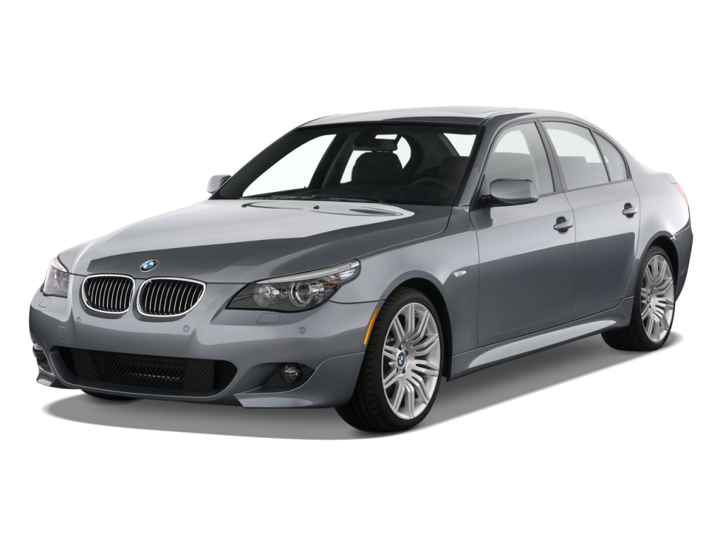 Image 2010 Bmw 5 Series 4 Door Sedan 550i Rwd Angular