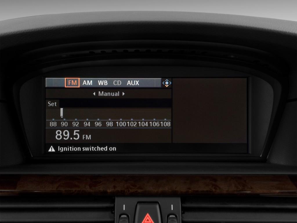 Image 2010 Bmw 5 Series 4 Door Sedan 550i Rwd Audio