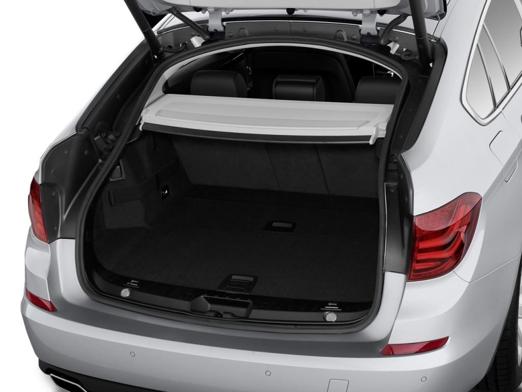 2010 BMW 5-Series Gran Turismo 4-door Sedan 550i RWD Trunk