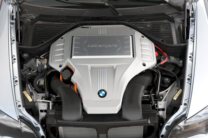 2010 BMW ActiveHybrid X6 engine