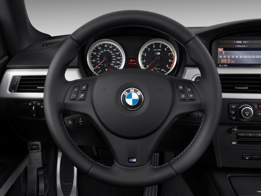 2010 BMW M3 2-door Coupe Steering Wheel