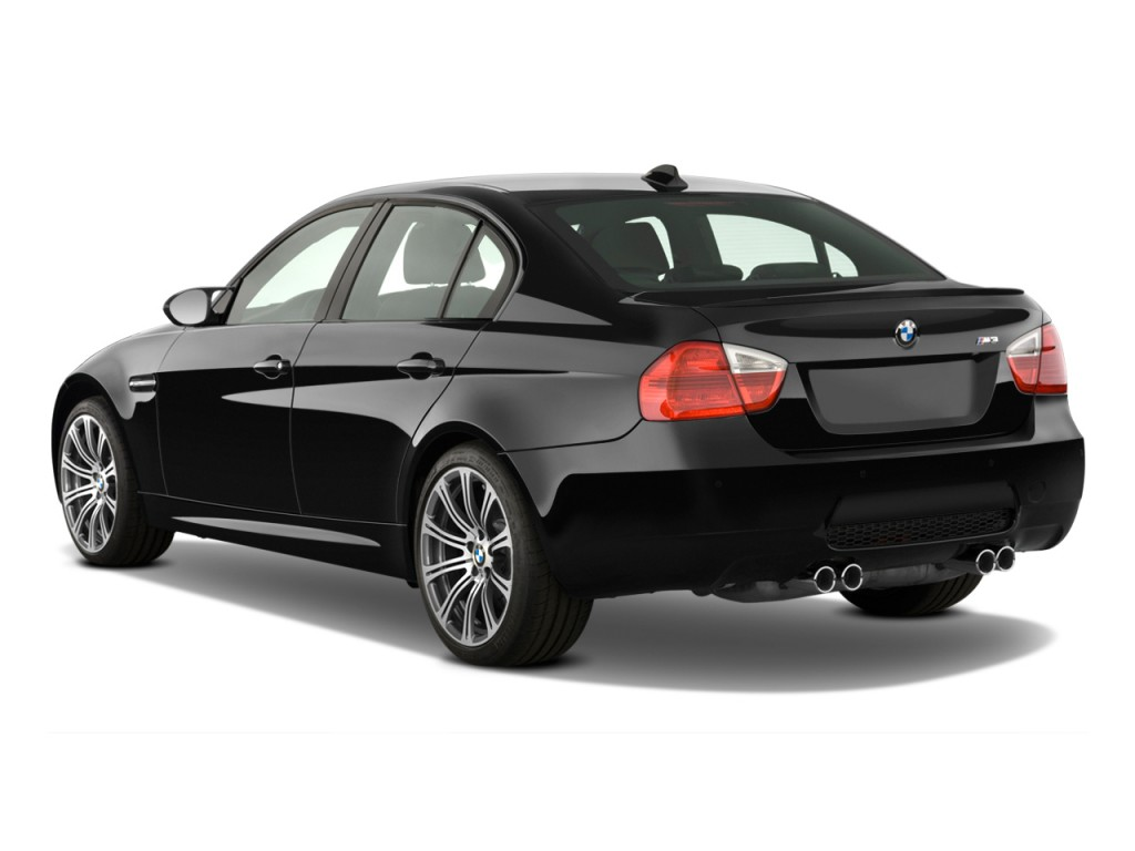 image: 2010 bmw m3 4-door sedan angular rear exterior view, size