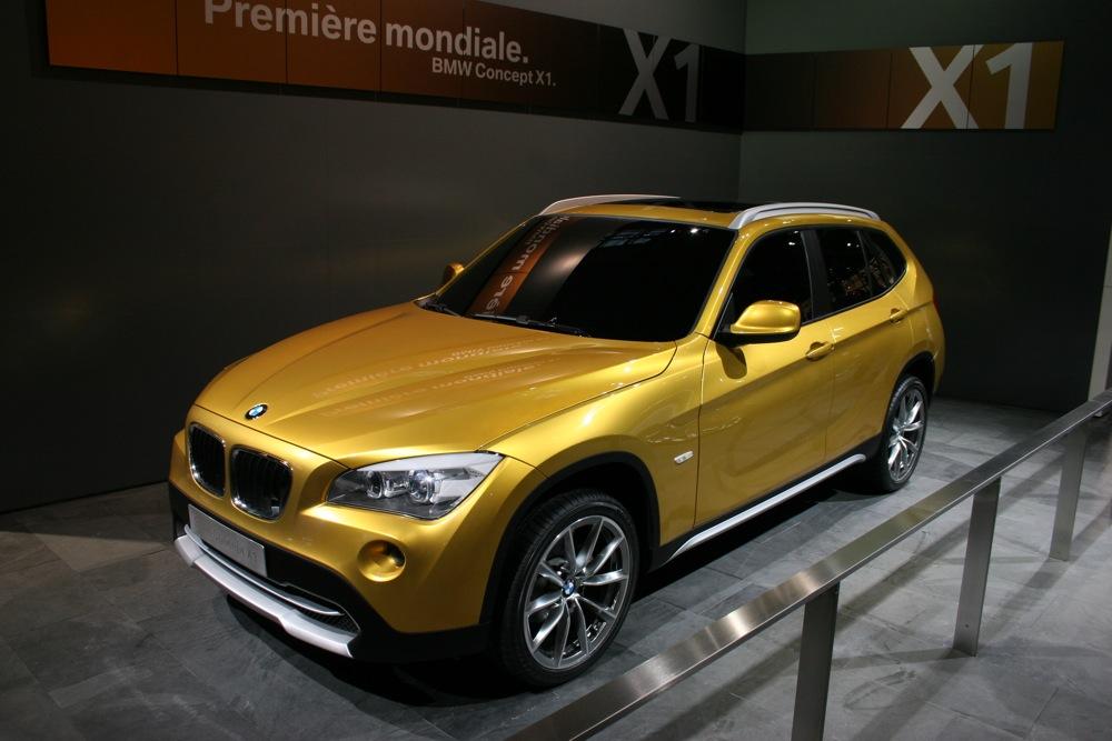 The Details: BMW\'s X1 Concept