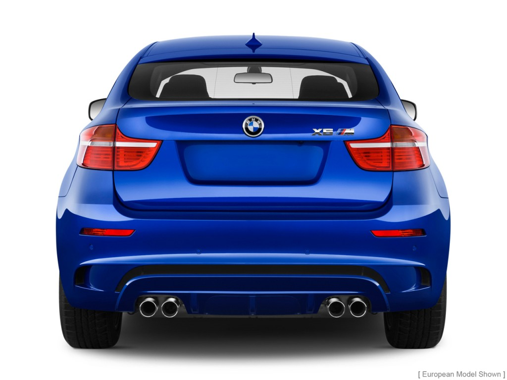 Image: 2010 BMW X6 M AWD 4-door Rear Exterior View, size ...