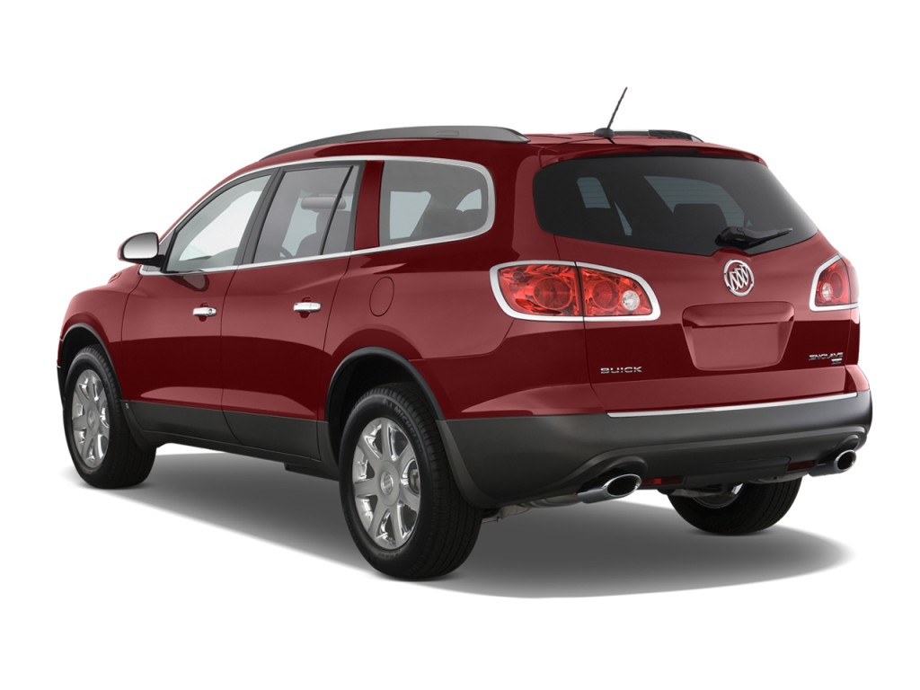 2010 Buick Enclave FWD 4-door 1XL Angular Rear Exterior View