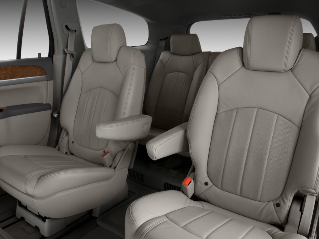 2010 Buick Enclave FWD 4-door 1XL Rear Seats