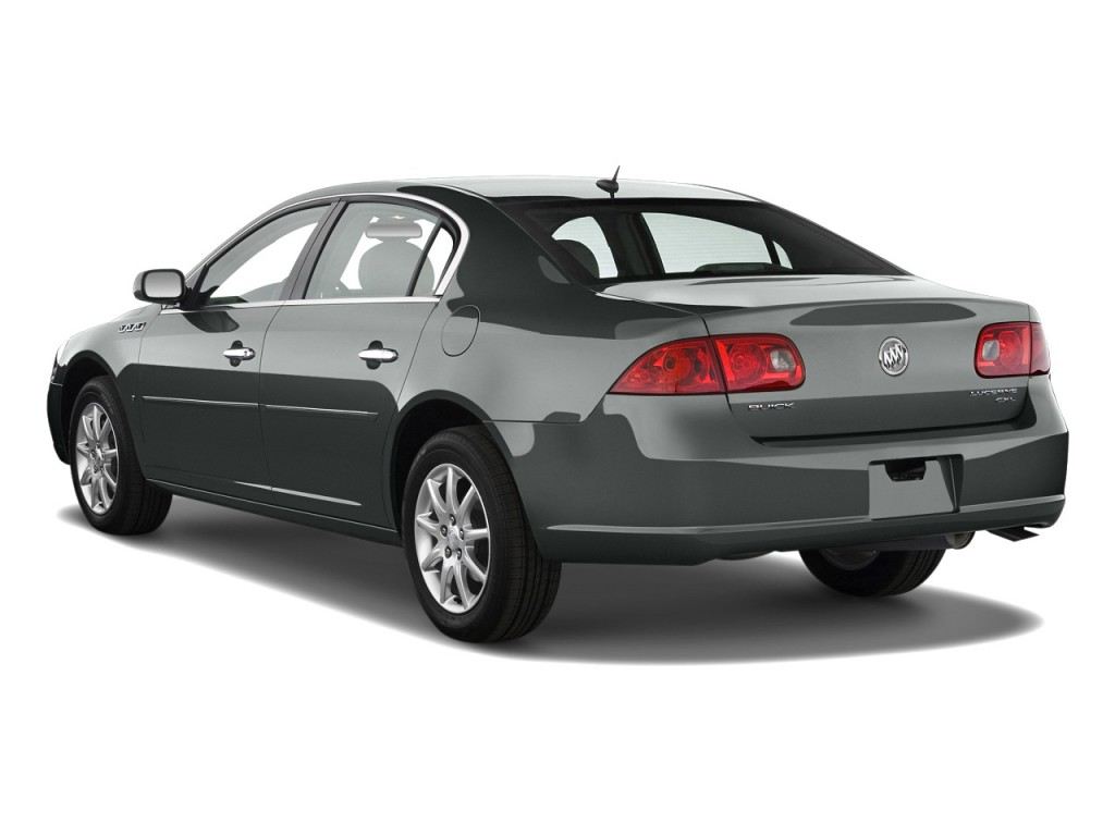 2010 Buick Lucerne 4-door Sedan CXL Angular Rear Exterior View