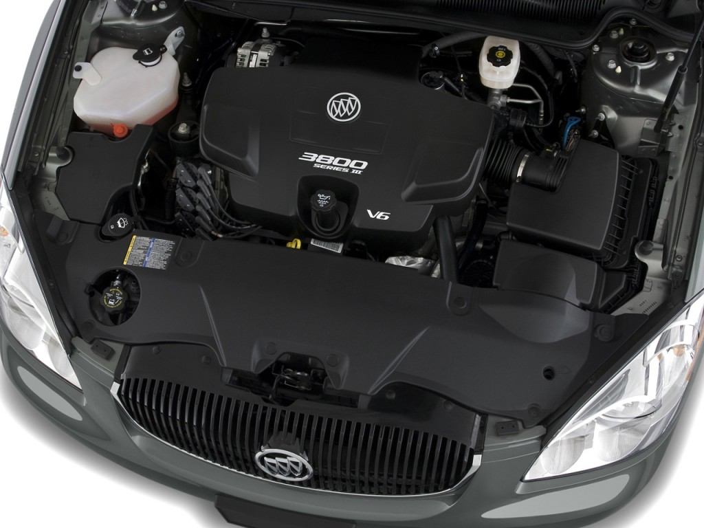 2010 Buick Lucerne 4-door Sedan CXL Engine