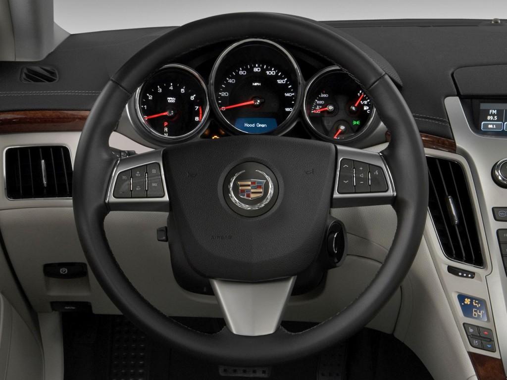 Cadillac Cts Door Sedan L Rwd Steering Wheel L