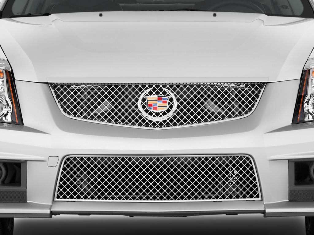 Image: 2010 Cadillac CTS-V 4-door Sedan Grille, size: 1024 ...